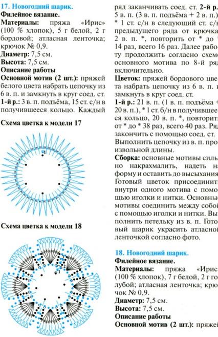 Новогодние шары, interesnoe. ng shari kruchkom1 Новогодние шары.