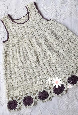 Вязание сарафана для девочки