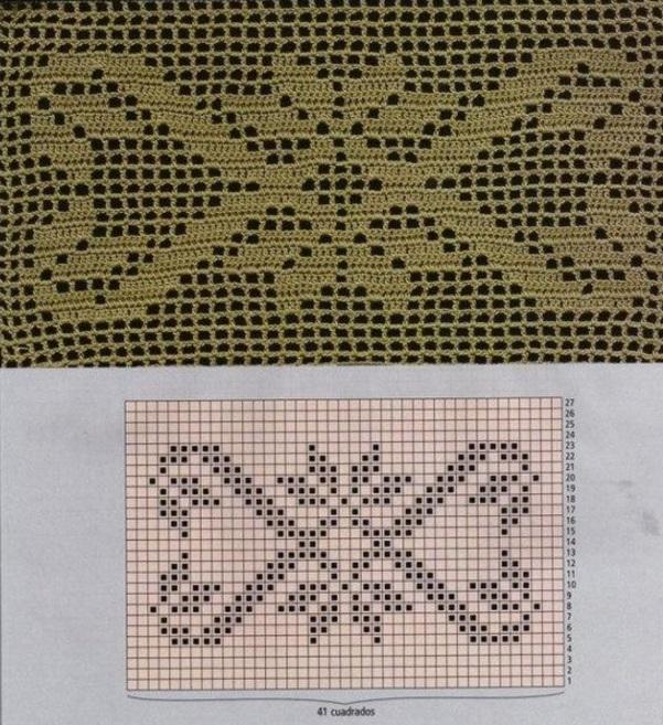 Вязание спицами в схемах и изображениями