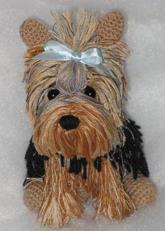 Собаки вязание крючком