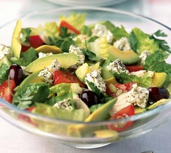 Как приготовить салаты.  Фруктовые салаты. авокадо