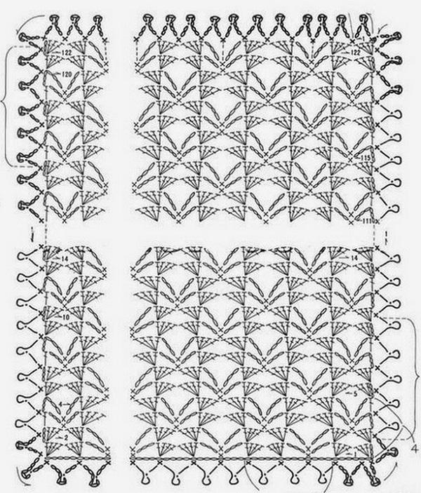 1001 схема вязания крючком 3