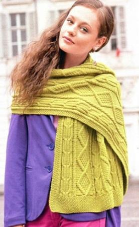Схема вязания ромба ... = Схема вязания спицами.