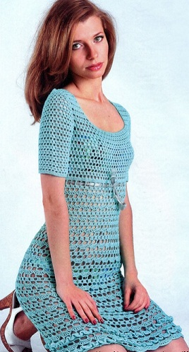 Платье элизабет крючком схема фото 940