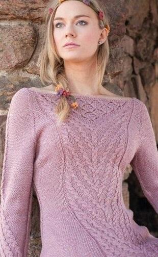 Связать красивый пуловер