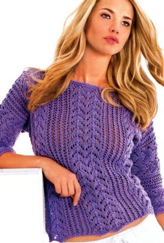 Пуловер схема