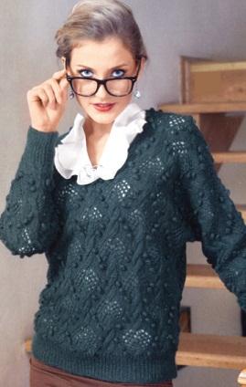 Пуловер женский 46-48 размера.