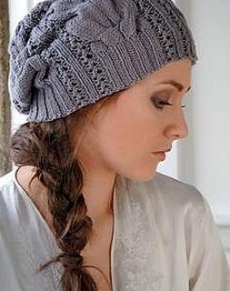 вязаные шапки схемы вязания спицами