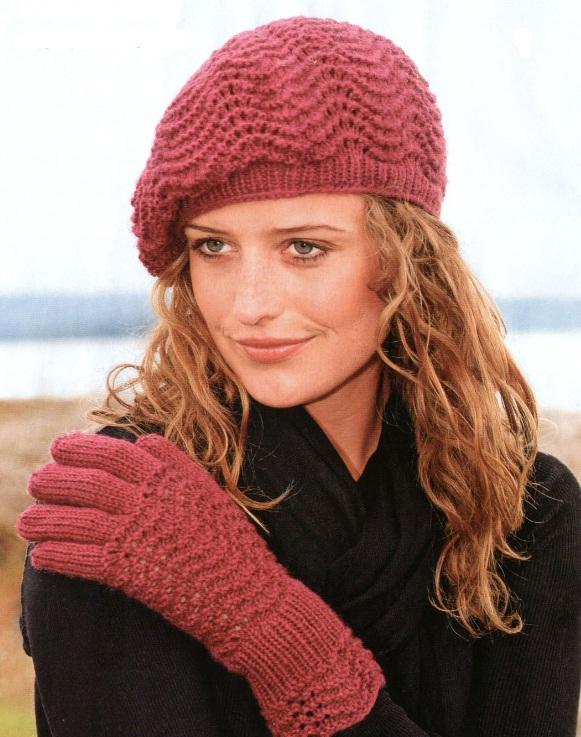 вязаные шапки со схемами бесплатно. шапка вязаный. зимние вязаные