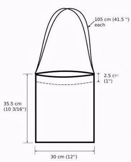 Выкройка сумки из льна своими руками выкройки