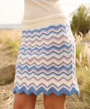 Модели и схемы вязания спицами.  Размеры юбки спицами: 158-170.  Для вязания юбки вам потре уются материалы: пряжа Be...