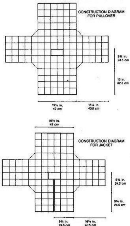 вязание ажурные квадратные мотивы