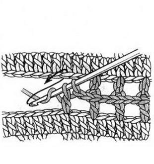 Соединение деталей крючком