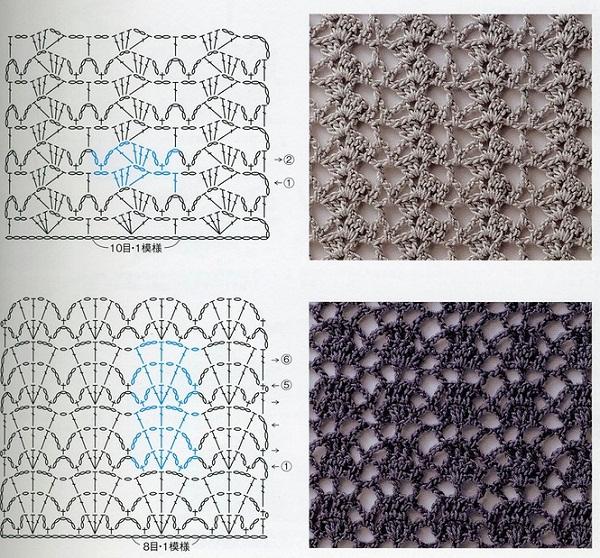 Схемы вязания спицами, крючком, мода и многое другое