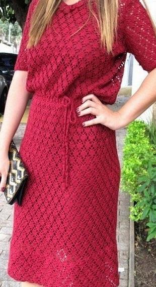 Узор для ажурного платья