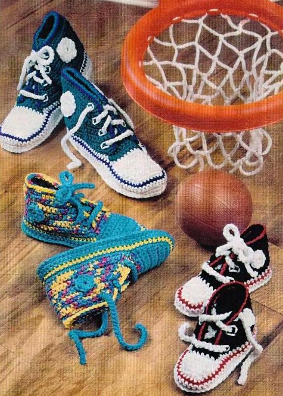 схема вязания орнамента для детей.