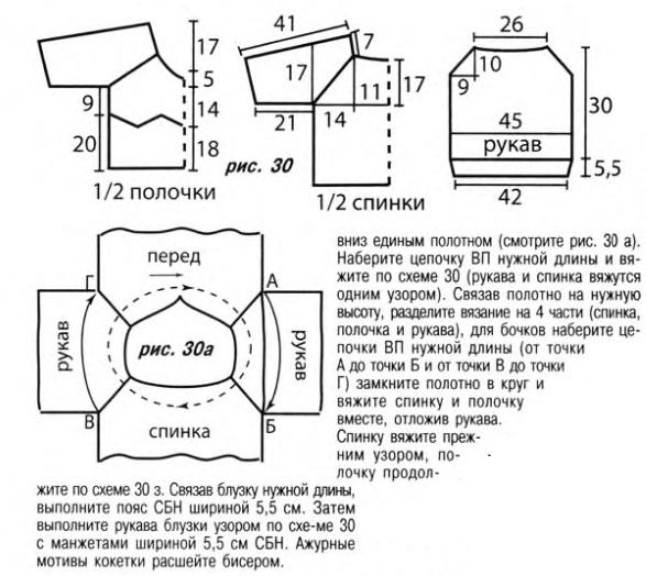 тС'плая кофта крючком. модели вязанных кофточек спицами. схема вязания...