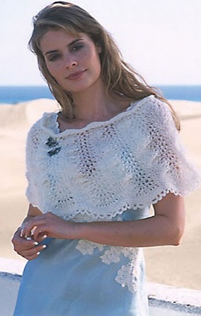 23 августа 2011 года,09:39.  Схема вязания пончо спицами. схема для вязания. пончо.  Yaromila Volkova.